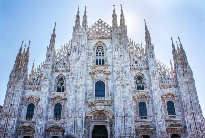 O zi in Milano -Domul din Milano