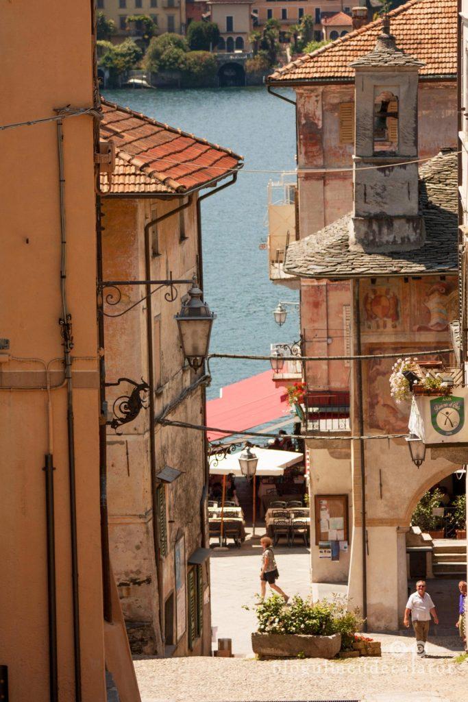 straduta in Orta san Giulio