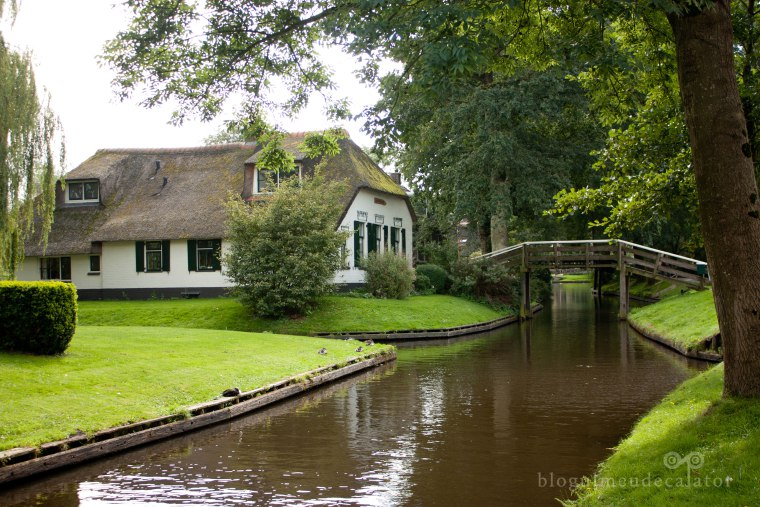 canale in giethoorn