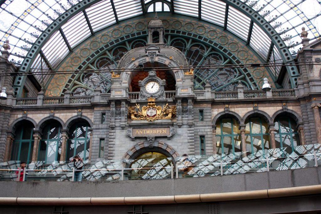Atractii turistice din Anvers-gara din anvers