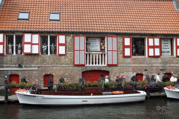 Brugge-imbarcare pentru croaziera