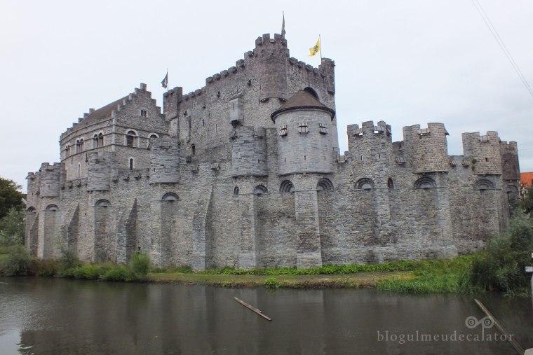 Castelul Gravensteen privire laterala