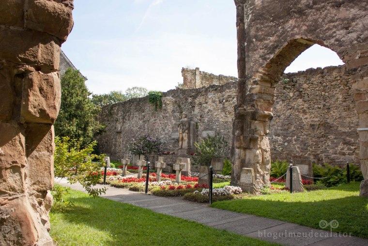 abația cisterciană din cârța-curtea interioara