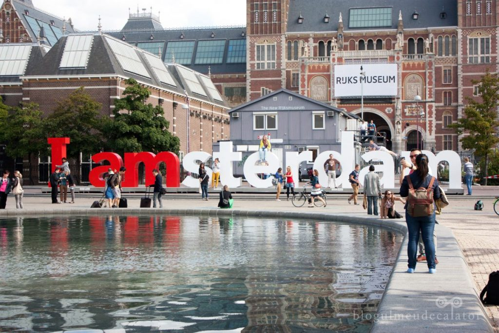 I amsterdam Holland