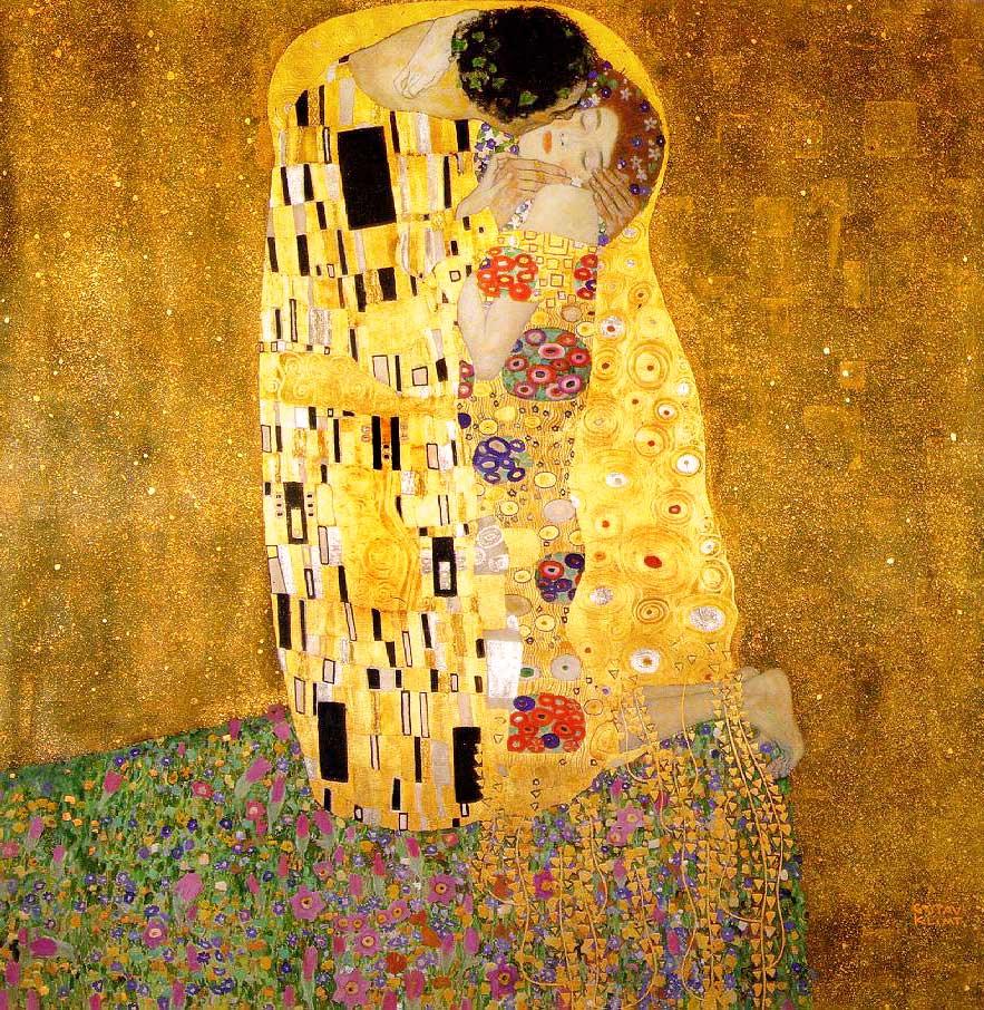 sarutul de klimt- belvedere viena