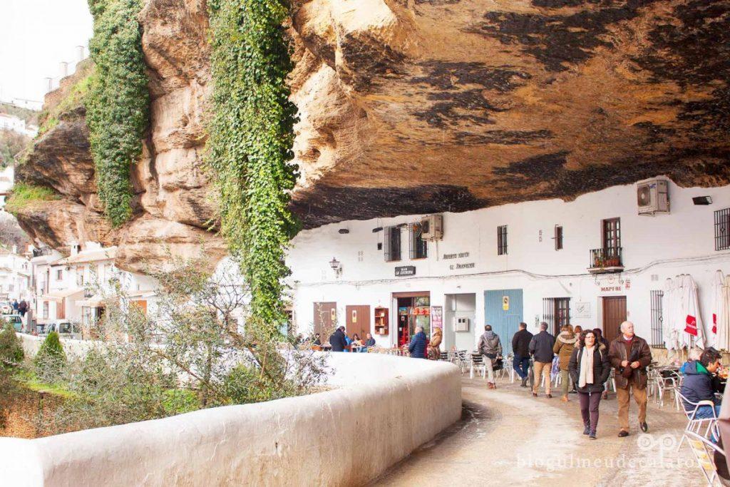 Vacanță în Andaluzia-Setenil de las Bodegas, Spania-cuevas del sol
