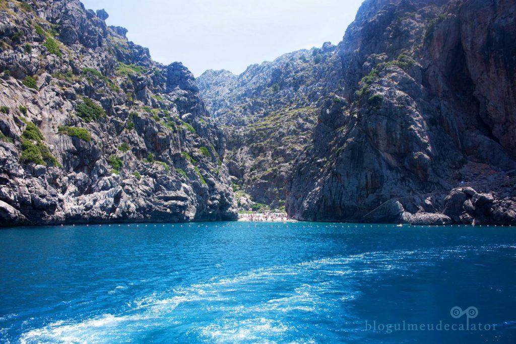3 plaje din Mallorca - Sa Calobra