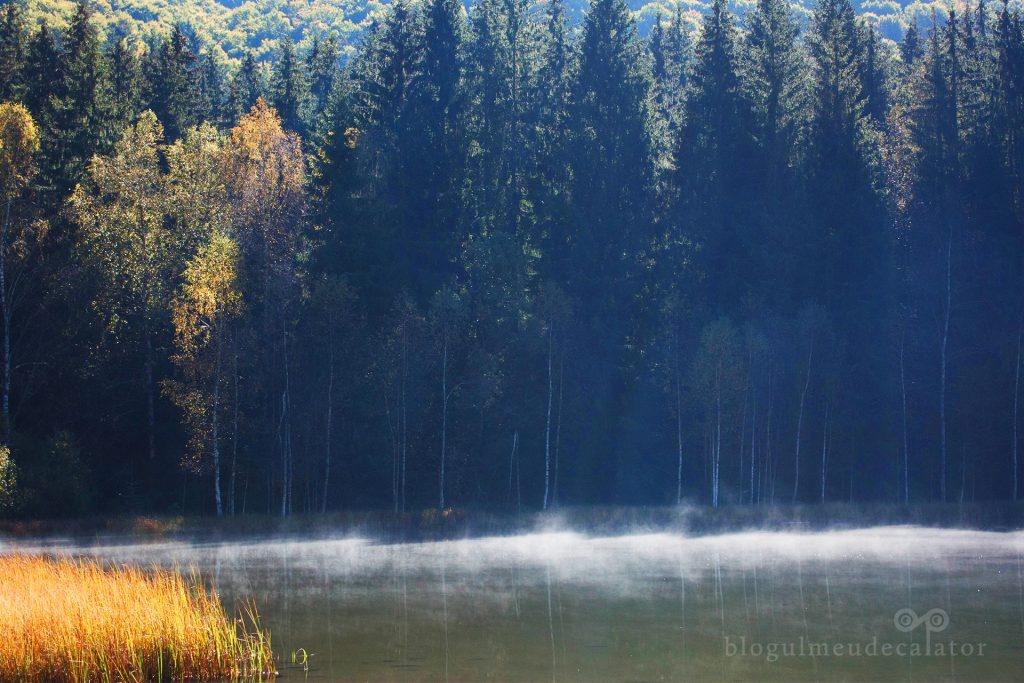 abur deasupra lacului sf ana, Tusnad