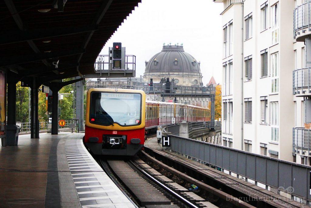 stație de metrou in Berlin