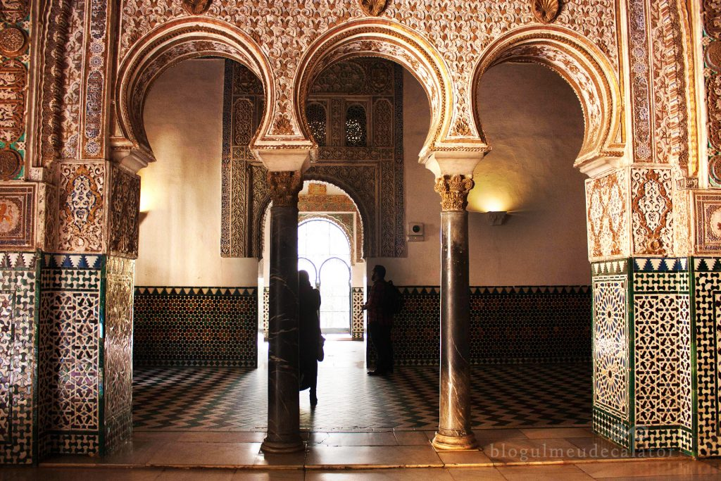 palatul real alcazar sevilla
