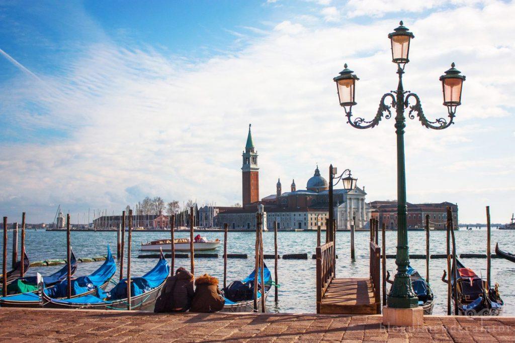 gondole in Veneția