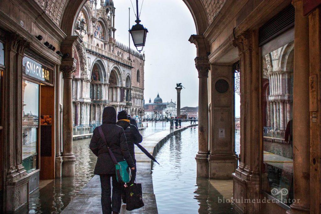 pasarele pentru inundatii in venetia
