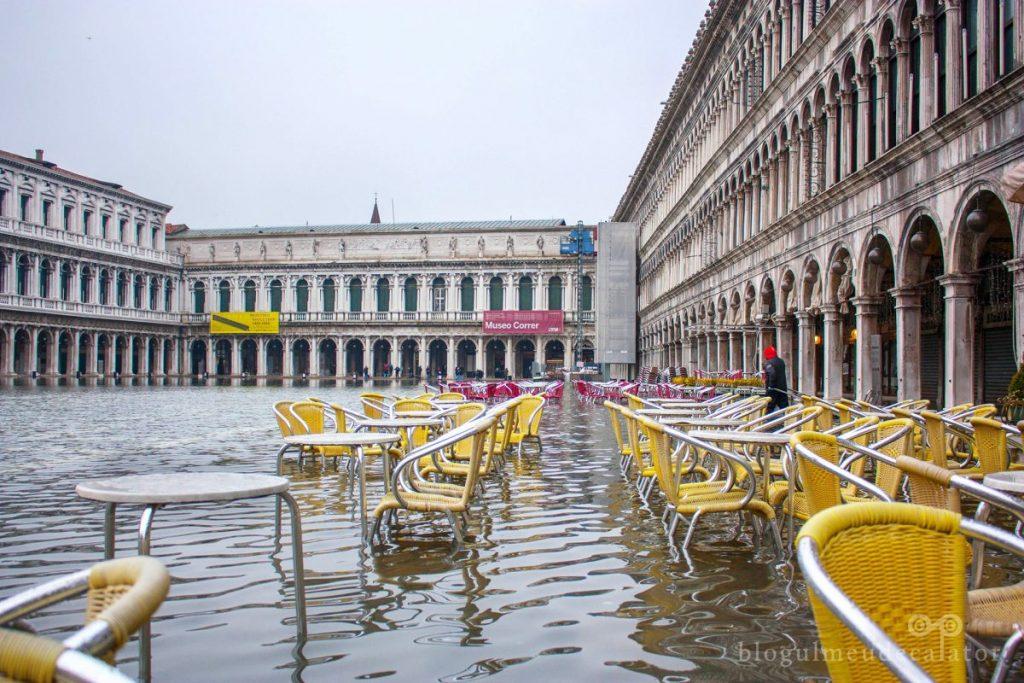 piata san marco ventia inundata