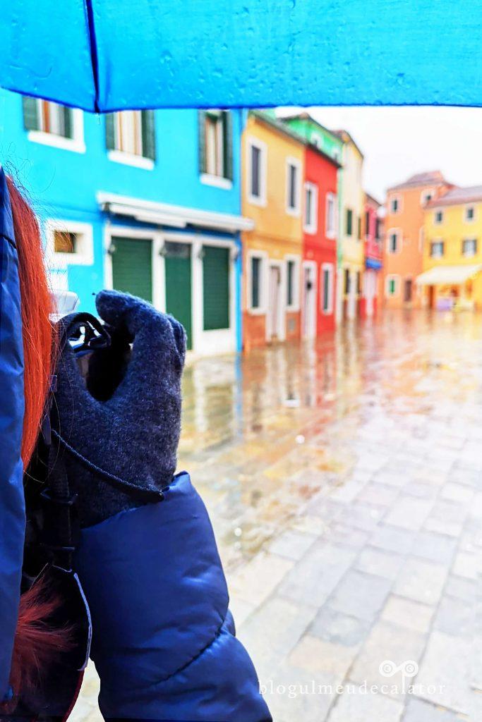 case colorate in Burano