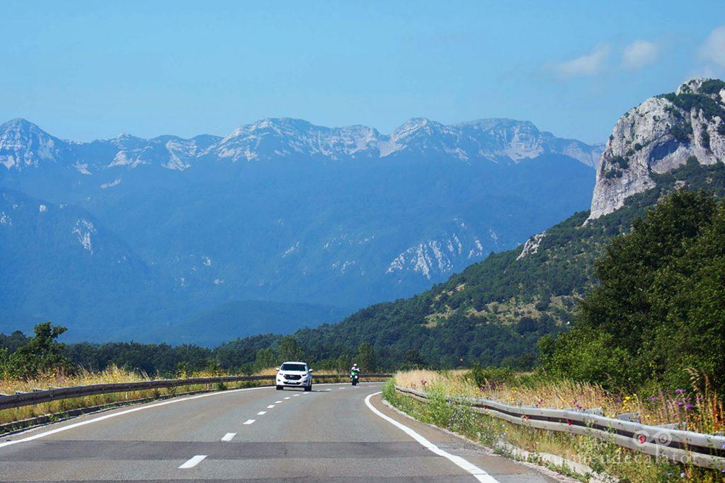 drumul cu masina pana in Croatia