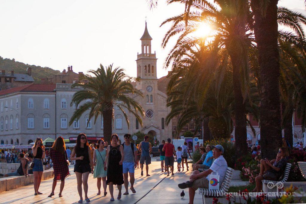 faleza din Split