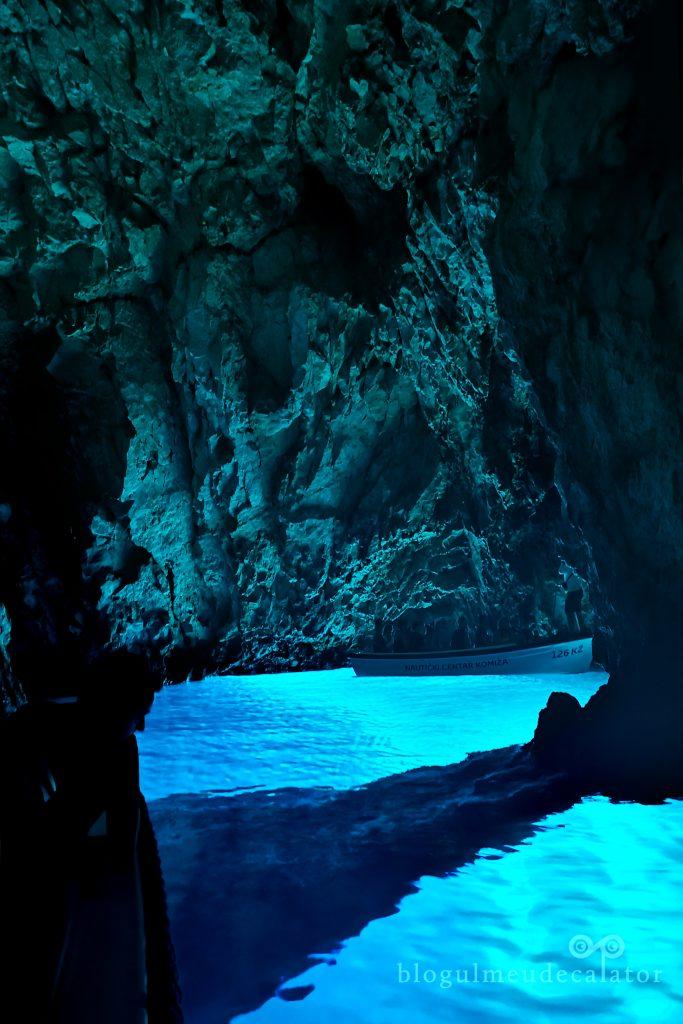 Blue Cave, insula Bisevo, Croatia