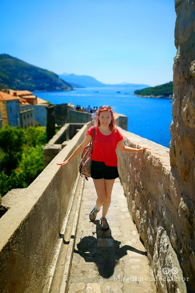 zidurile corasului vechi in Dubrovnik