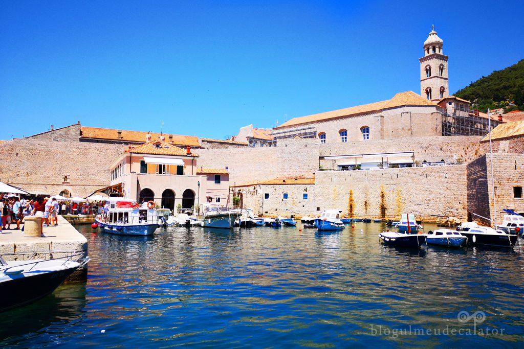 portul vechi din Dubrovnik