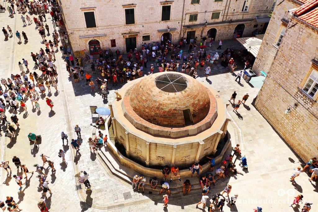 Dubrovnik-fantana lui Onofrio