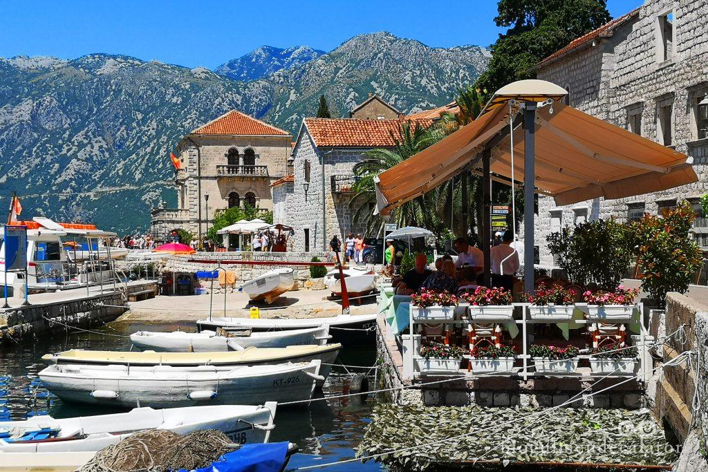 micul Perast, Muntenegru