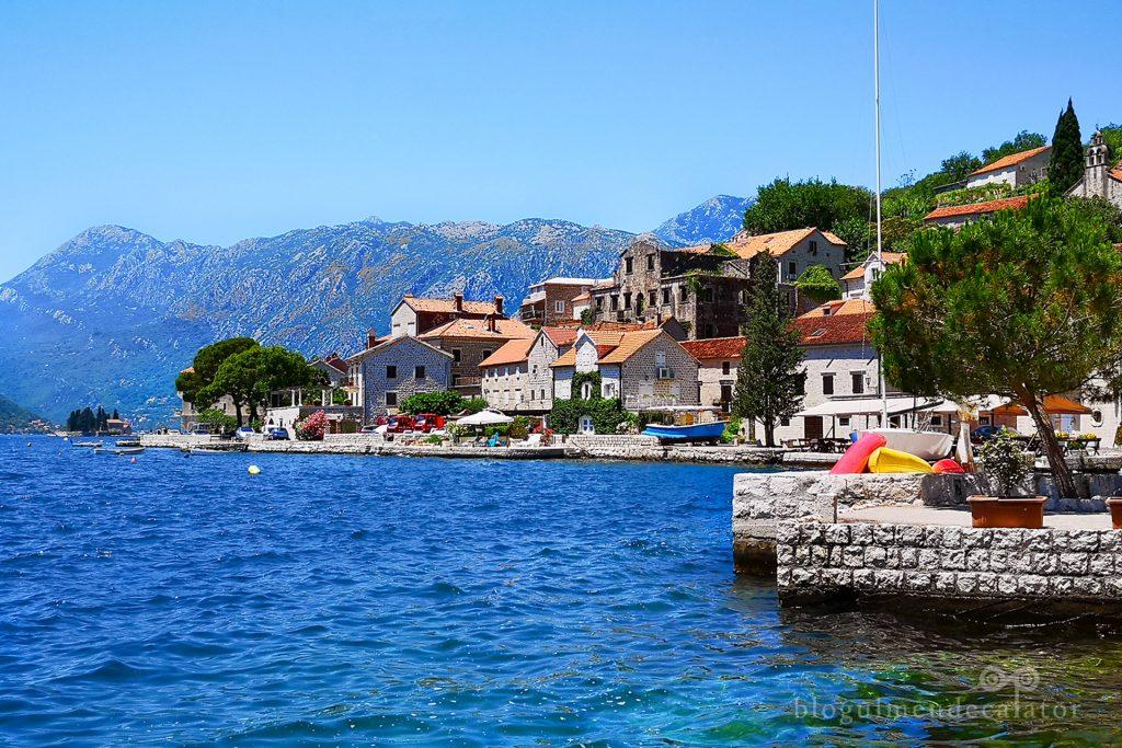 satul Perast din Muntenegru