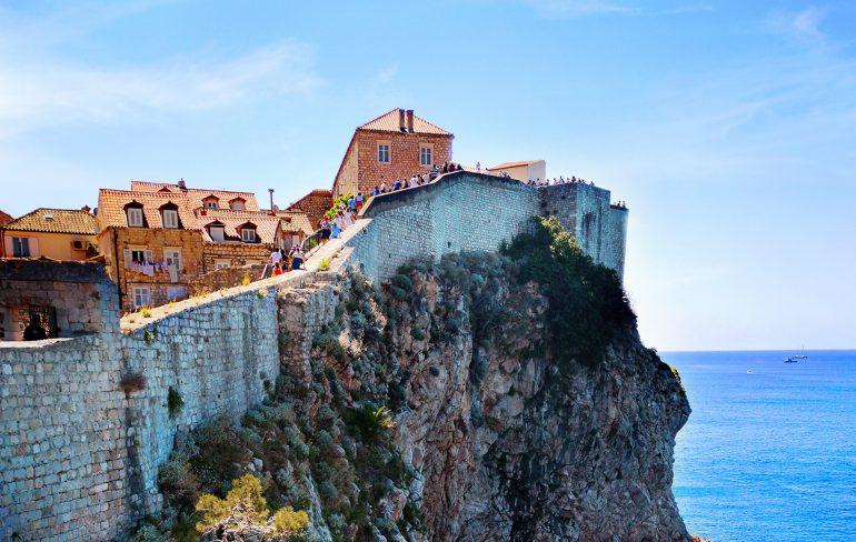 Dubrovnik, cel mai frumos oras de pe coasta dalmata