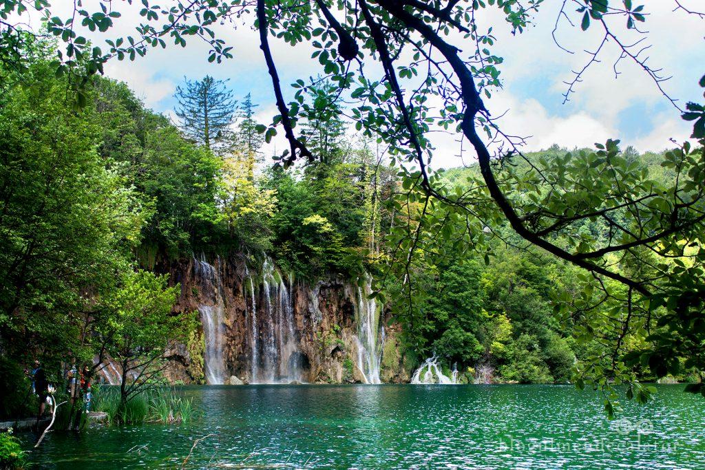 cascade la lacurile Plitvice, Croatia