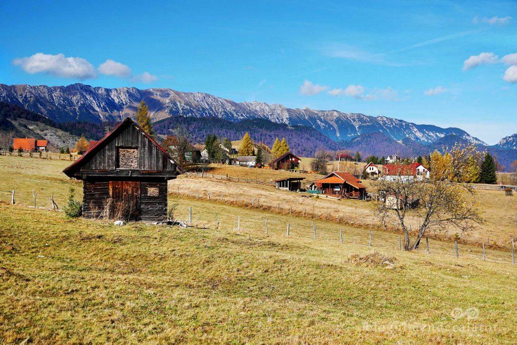 peisaj de pe traseul ecoturistic Hoinăreală prin Șirnea
