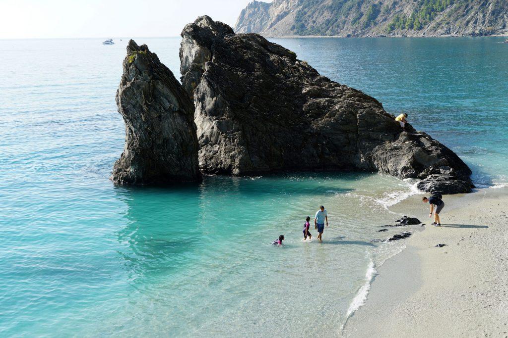 plaja Fegina din Monterosso, Cinque Terre
