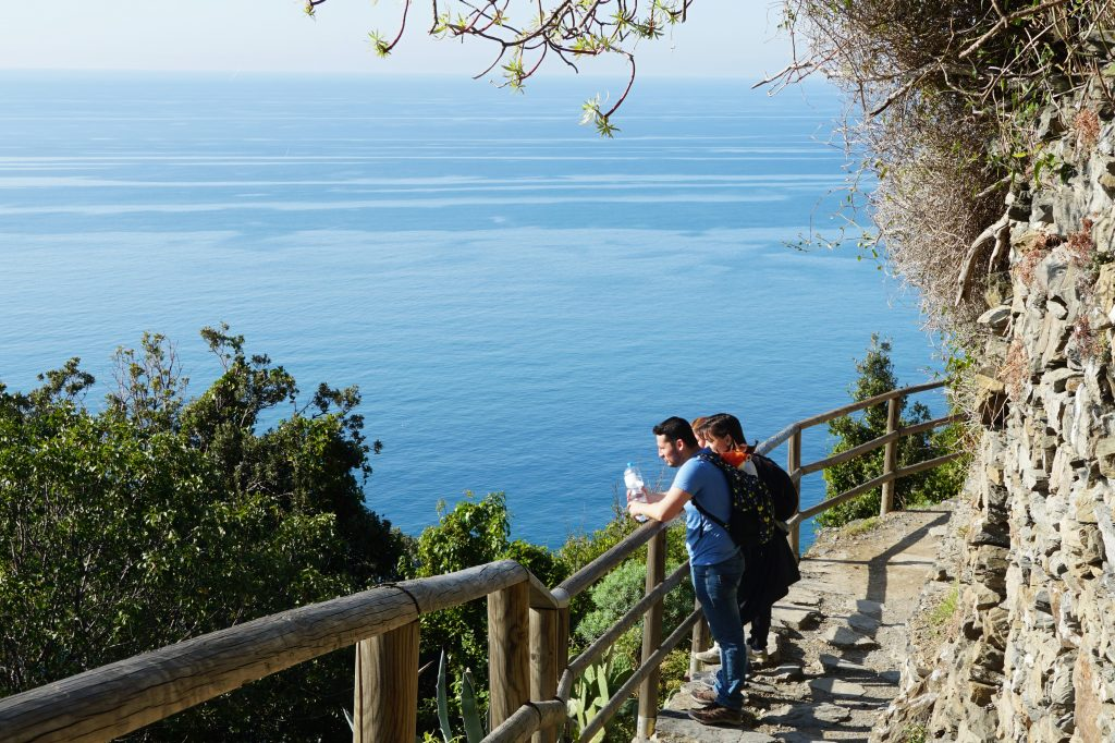 CInque Terre-traseu de hiking