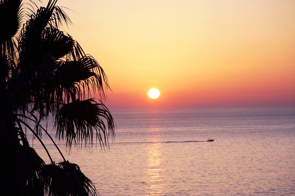 apus de soare in Manarola