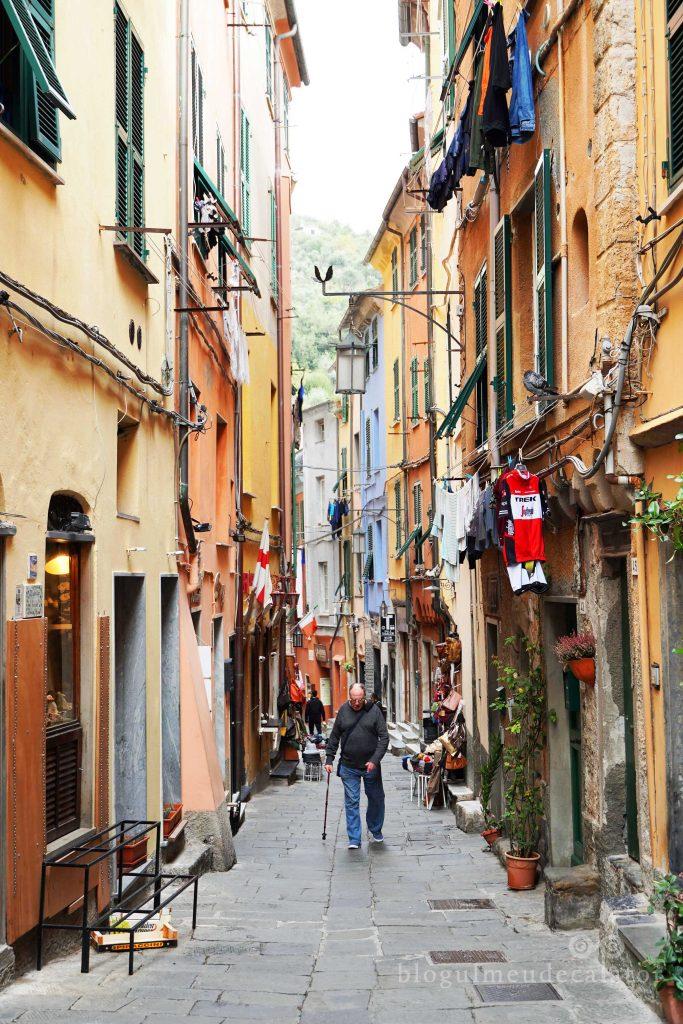 Vial Capellini- Portovenere, Italia