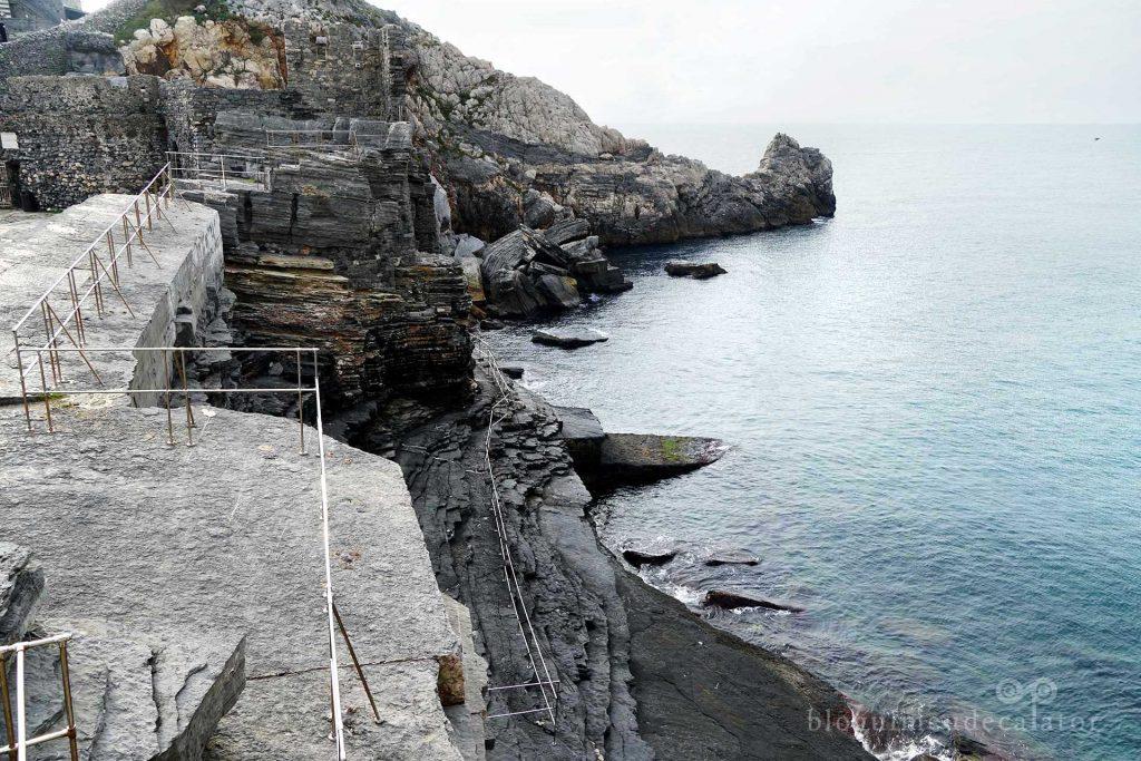 Grota lui Byron din Portovenere, un orasel langa Cinque Terre