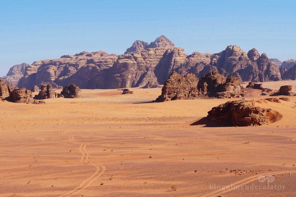 drumuri pustii prin desert