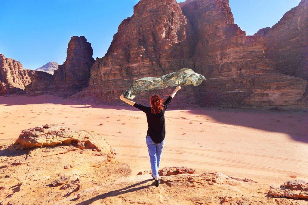 DEsertul Wadi Rum Iordania