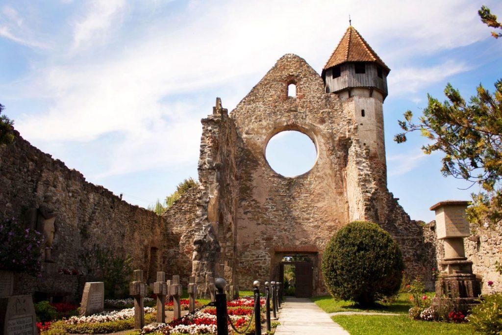 Popas la Abația Cisterciană din Cârța, Sibiu