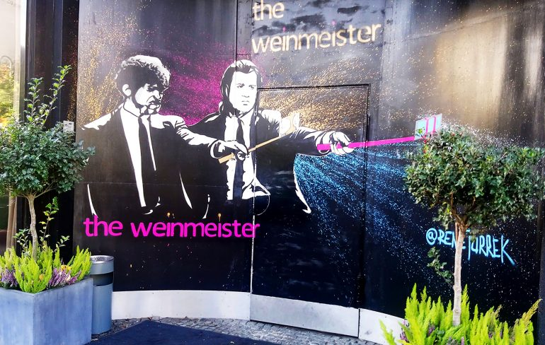 the weinmeister hotel, berlin-the entrance