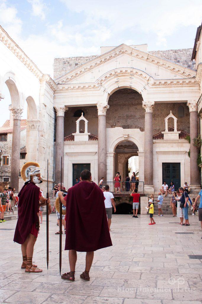templus lui Diocletian, Split, Croatia