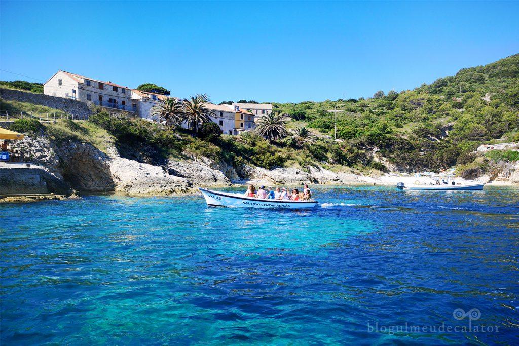 insula Bisevo, Croatia
