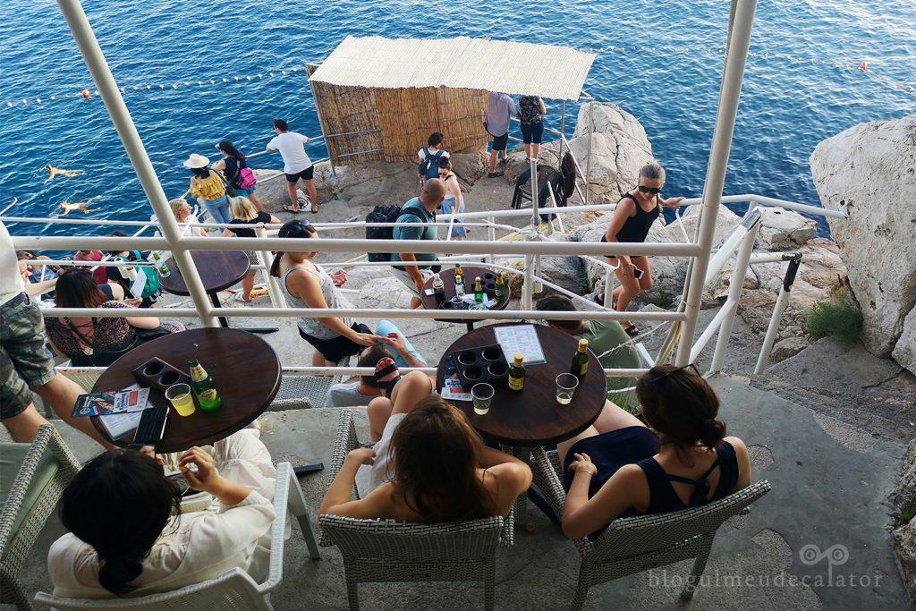 buza Bar, Dubrovnik -vcanata în Croatia