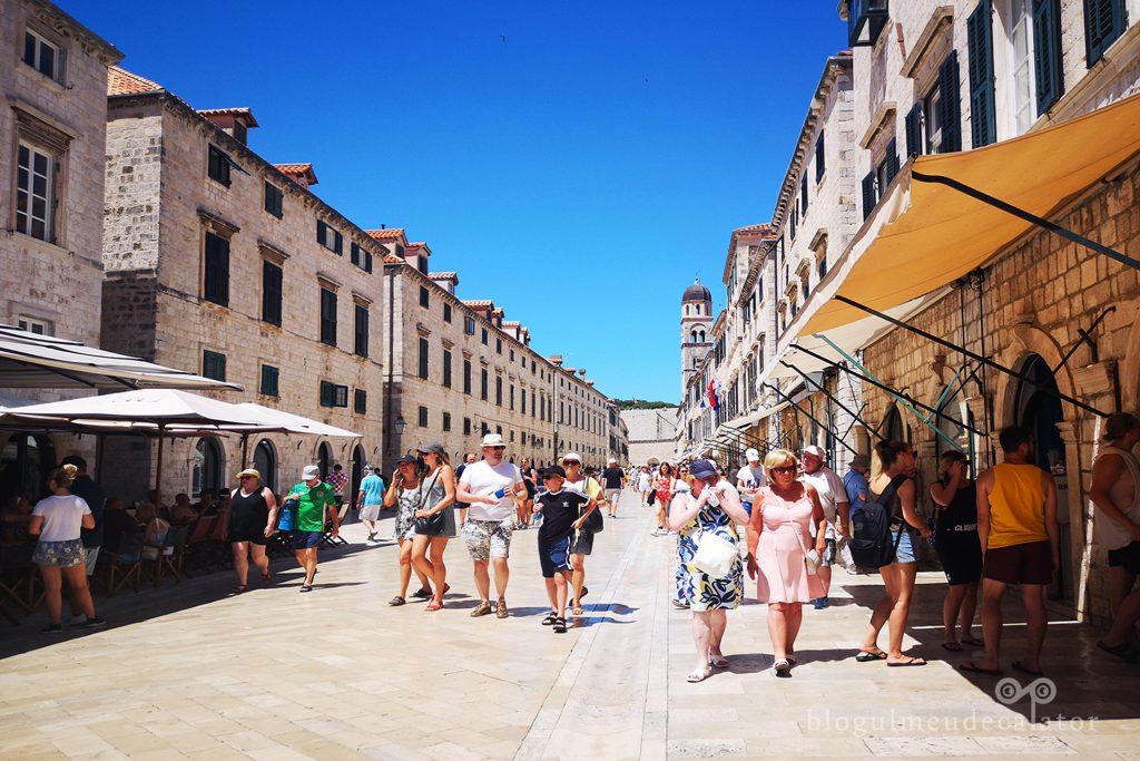 centrul vechi din Dubrovnik