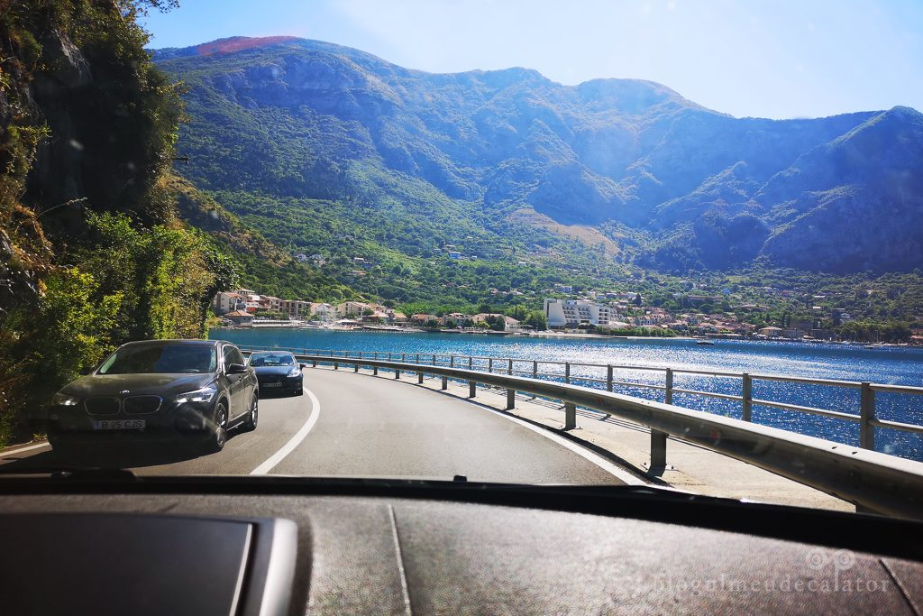 cum arata drumul cu masina in Croatia