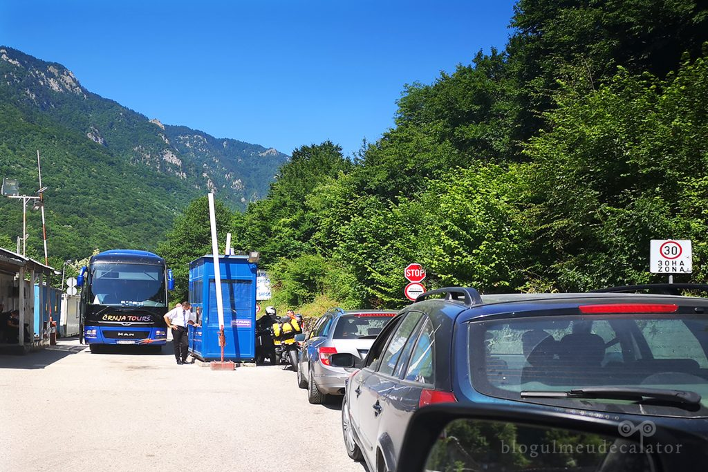 granita pe drumul cu masina in Croatia