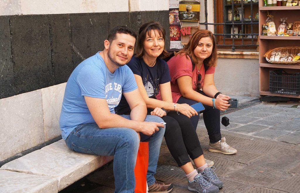 cu prietenii in vacanta in Cinque Terre