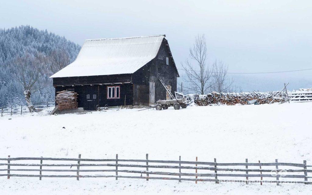 Fundata pe timp de Iarna