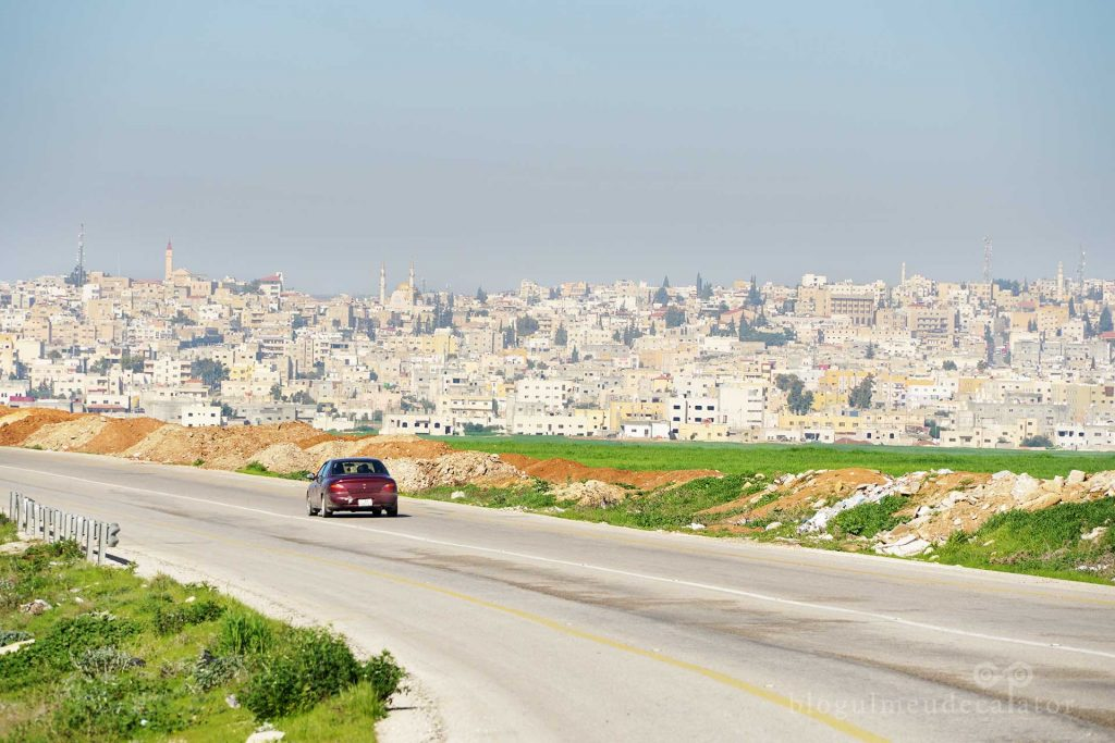 drumul spre Madaba, Iordania