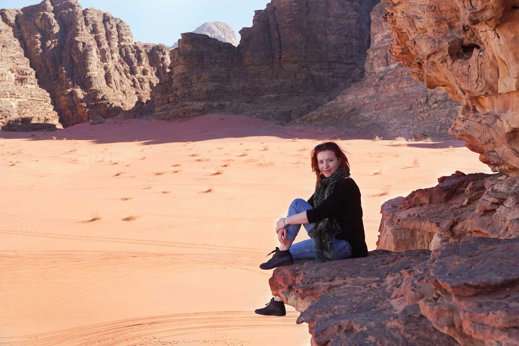 stanci in desertul Wadi rum