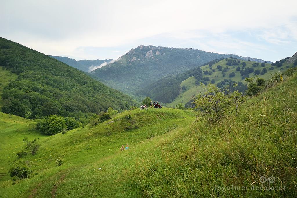 drumul spre Cetatea Trascaului din Coltesti, Alba