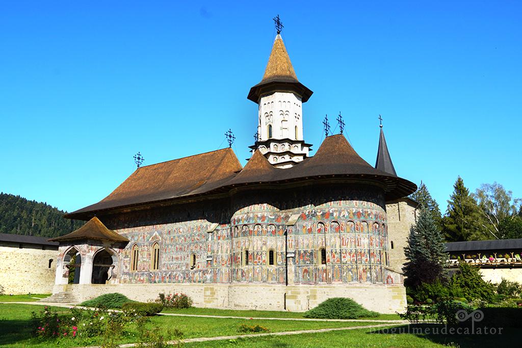 10 locuri de vizitat în Bucovina mea dragă- Manastirea Sucevita
